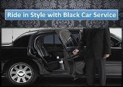 Ride in Style with Black Car Service Powerpoint Presentation
