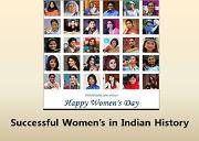 Successful Womens in Indian History Powerpoint Presentation