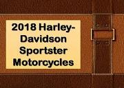 2018 Harley-Davidson Sportster Motorcycles Powerpoint Presentation