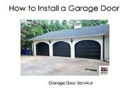 How to Install a Garage Door Powerpoint Presentation