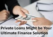 Private loans might be your ultimate finance solution Powerpoint Presentation