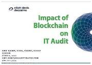 Impact of Blockchain on IT Audit Powerpoint Presentation