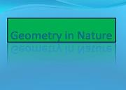 Geometry In Nature Powerpoint Presentation
