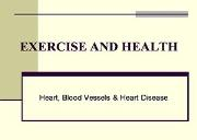 Exercise And Health Powerpoint Presentation
