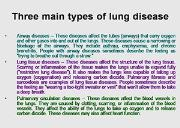 Lung Disease Powerpoint Presentation