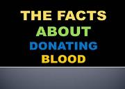 Blood Donation Facts in India Powerpoint Presentation