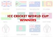 ICC Cricket World Cup Winner List Powerpoint Presentation