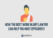 How the Best Work Injury Lawyer Can Help You Most Efficiently Powerpoint Presentation