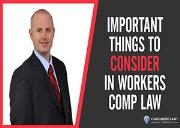 Important Things to Consider In Workers Comp Law Powerpoint Presentation
