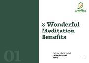 Top Meditation Benefits Powerpoint Presentation