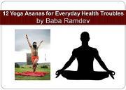 12 Yoga Asanas for Everyday Health Powerpoint Presentation