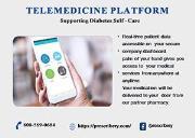 Telemedicine Platform for managing Diabetes During Covid-19 Powerpoint Presentation
