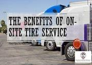The Benefits Of On-site Tire Service Powerpoint Presentation