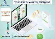 Telehealth and Telemedicine -  Hipaa Compliant - Pharmacy Integrate Powerpoint Presentation