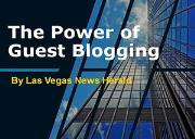 The Power of Guest Blogging Powerpoint Presentation