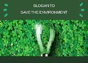 Save The Enivornment Powerpoint Presentation