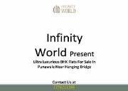 Spacious 3 BHK flats for sale in Punawale at Infinity World Powerpoint Presentation