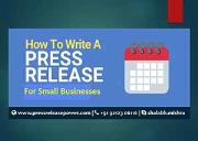 How do you do a successful press release for your online small business Powerpoint Presentation