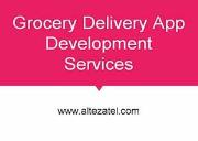 Grocery App Development Services Powerpoint Presentation