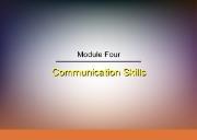 About Communication Skills Powerpoint Presentation