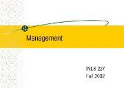 About Management Powerpoint Presentation