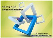 Power of Visual Content Marketing Powerpoint Presentation