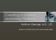 Marketing Plan Powerpoint Presentation