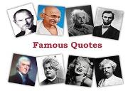 Famous Quotes By Famous People Powerpoint Presentation