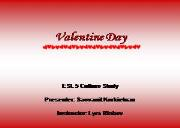 Valentines Day Powerpoint Presentation
