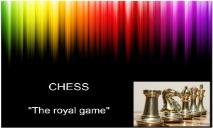 Play CHESS PowerPoint Presentation