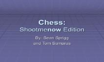 About Chess PowerPoint Presentation