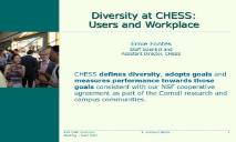 Diversity CHESS PowerPoint Presentation