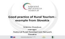 Rural Tourism and Agri tourism PowerPoint Presentation