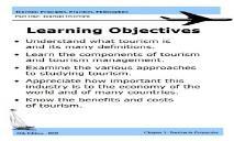 Tourism Principles Practices Philosophies PowerPoint Presentation