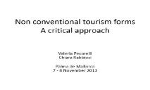 Tourism in the (Alba Sud) PowerPoint Presentation