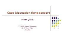 About Synchronous lung cancer PowerPoint Presentation