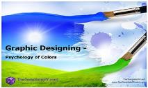 Graphic Designing Psychology of Color PowerPoint Presentation