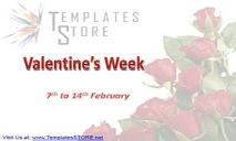 Valentine day week PowerPoint Presentation