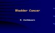 Bladder Cancer PowerPoint Presentation