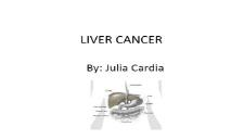 LIVER CANCER PowerPoint Presentation