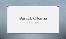 Barack Obama PowerPoint Presentation