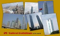 20 Tallest Buildings In The World PowerPoint Presentation
