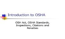 Introduction to OSHA-KFUPM PowerPoint Presentation
