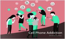 Cell Phone Addiction PowerPoint Presentation