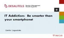 Addiction PowerPoint Presentation