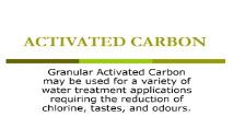 ACTIVATED CARBON PowerPoint Presentation