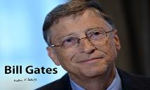 Bill Gates Biography PowerPoint Presentation