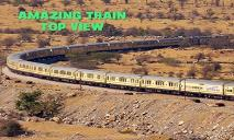 Amazing Trains Top View PowerPoint Presentation