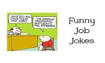 Funny Job Jokes PowerPoint Presentation
