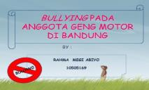 Bullying-FTP PowerPoint Presentation